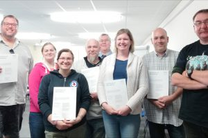 The second cohort of AF MHFA First Aiders